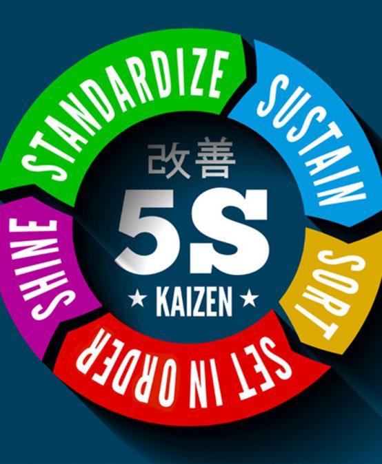 Stabilità nel processo – La tecnica 5S