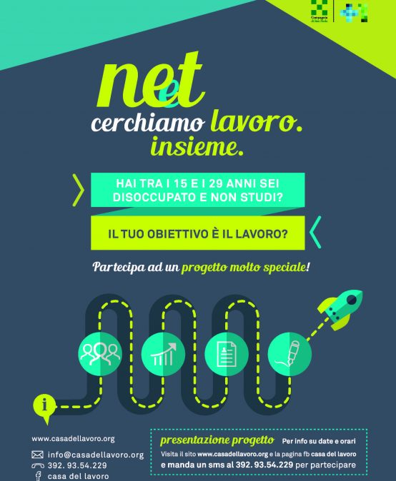 NEET Cerchiamo lavoro insieme – Dal 6 marzo 2017