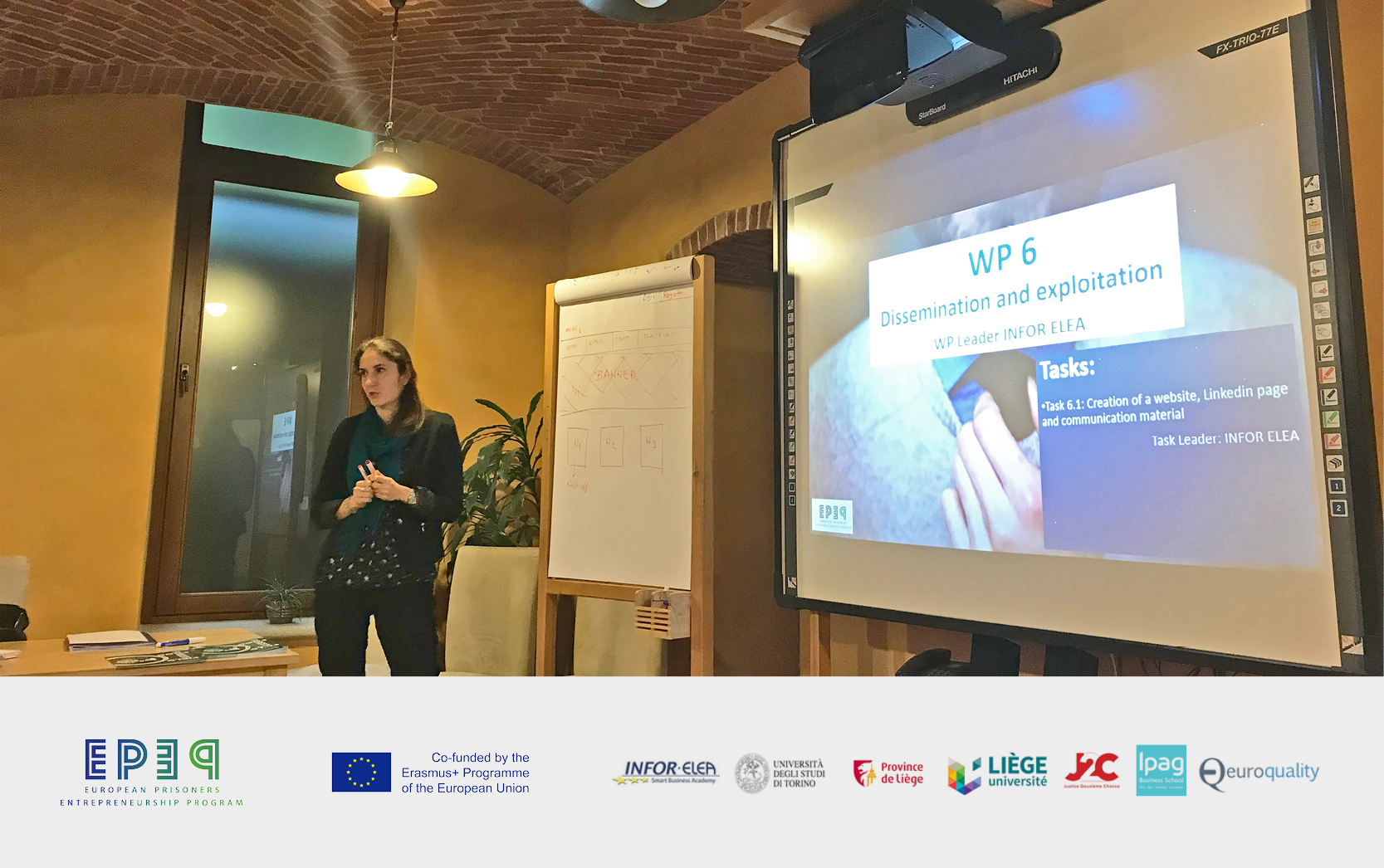 05 – 06 novembre 2018 – EPEP European Prisoners Entrepreneurship Program
